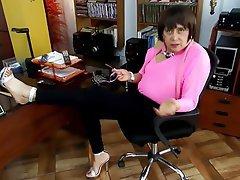 Anal, Secretary, Spanish