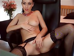Babe, Brunette, Russian, Webcam