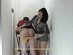 BDSM, Femdom, Spanking, Husband