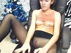 Webcam, Stockings, Foot Fetish, Pantyhose, Pantyhose