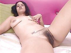 Amateur, Hairy, Masturbation, Webcam