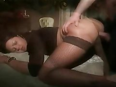 Anal, Blowjob, Italian, Stockings