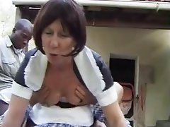 Anal, French, Granny, Mature, Outdoor