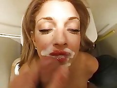 Mature, Facial, Interracial, POV