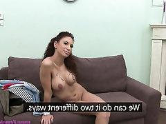 Anal, Babe, Casting, Masturbation