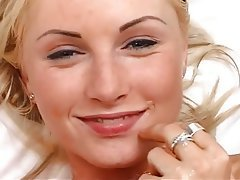 Anal, Blonde, Close Up, Cumshot