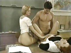 Cumshot, Hardcore, Pornstar, Threesome, Vintage